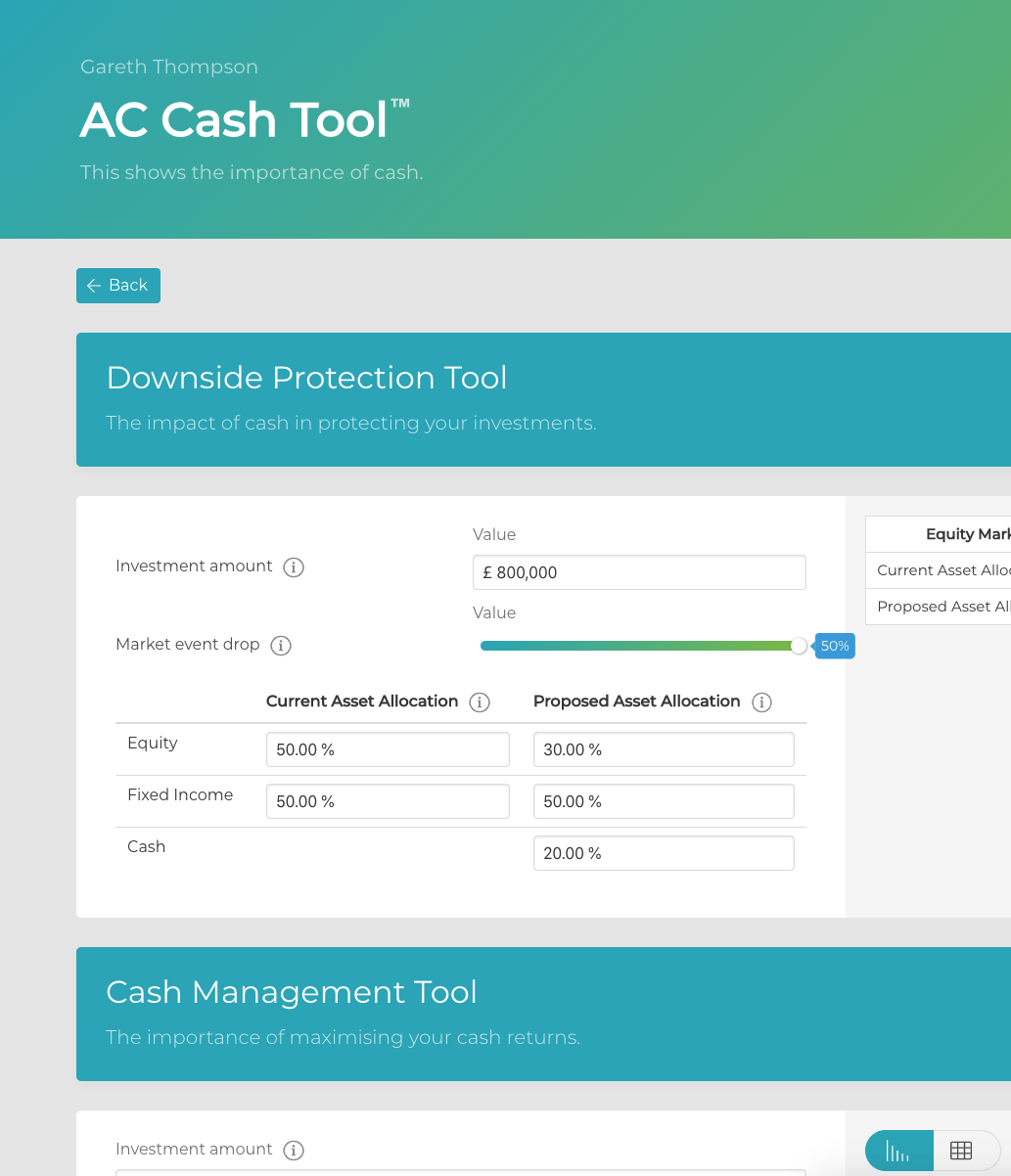 The Cash Management Tool